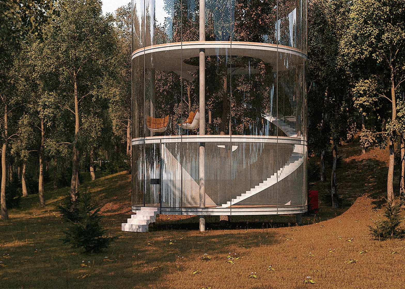 Tree in the house, una casa costruita intorno ad un albero | Collater.al 6