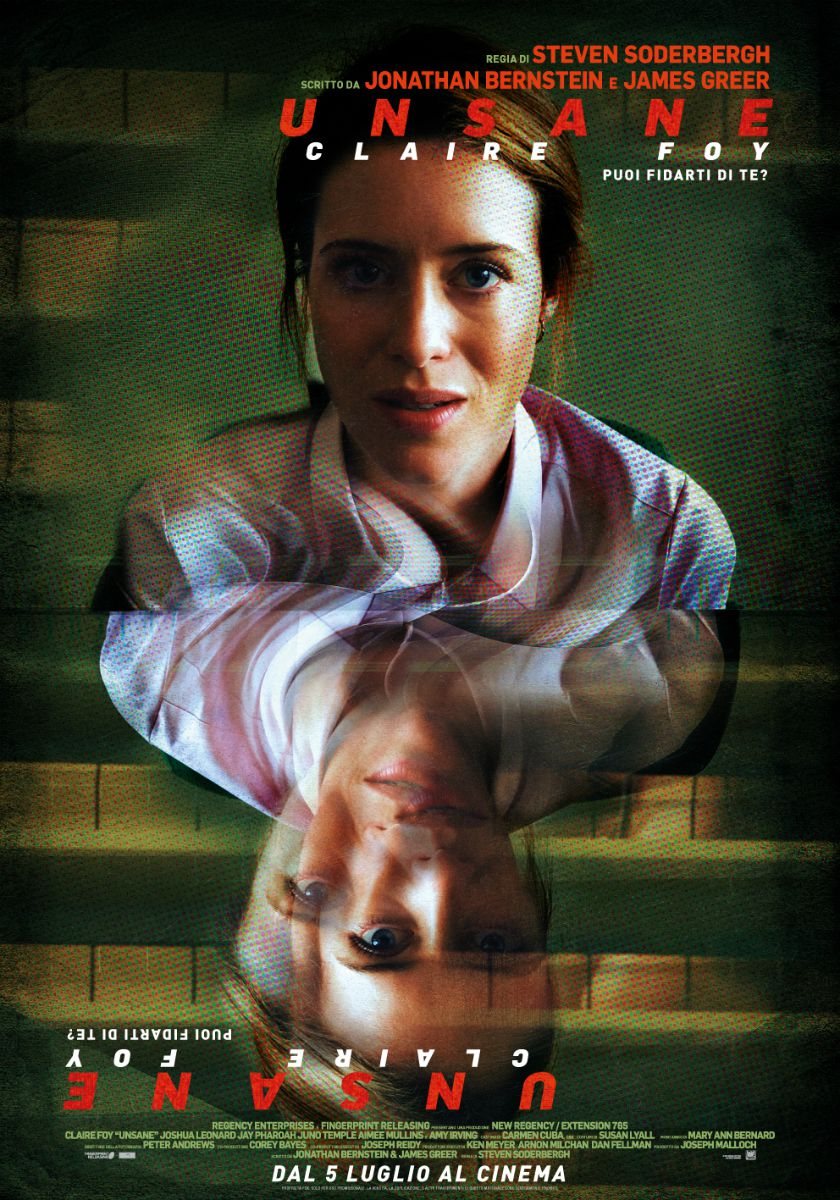 Unsane is the new film directed by Steven Soderbergh | Collater.al 2