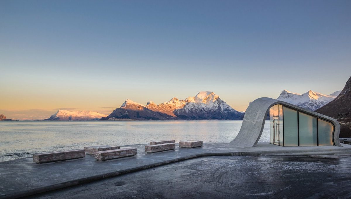Uredd, un progetto architettonico nel cuore dei fiordi norvegesi