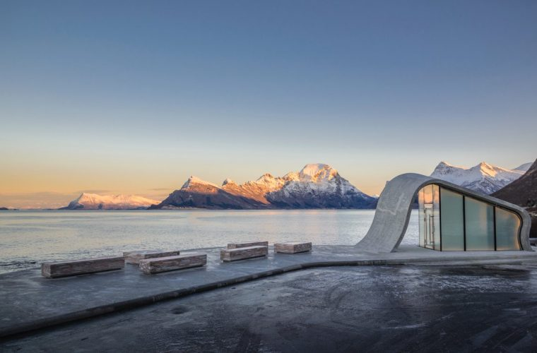 Uredd, an architectural project in the middle of fjords