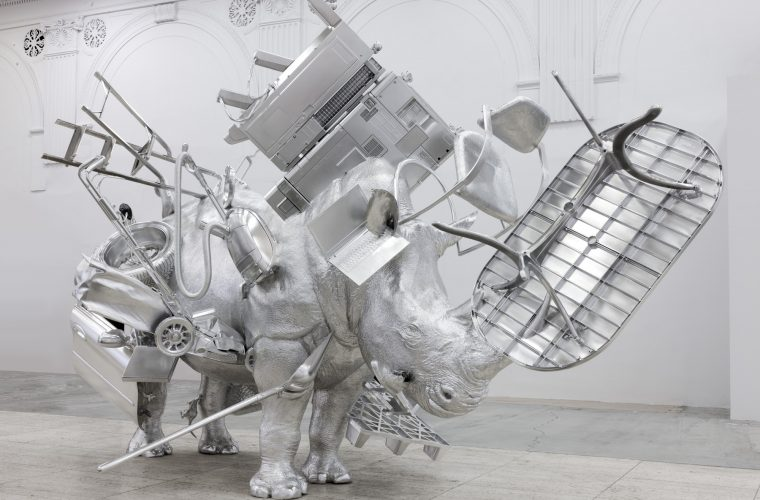Urs Fischer's Things as metaphor of accumulation