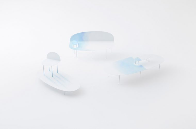 Watercolor, new Nendo's forniture collection