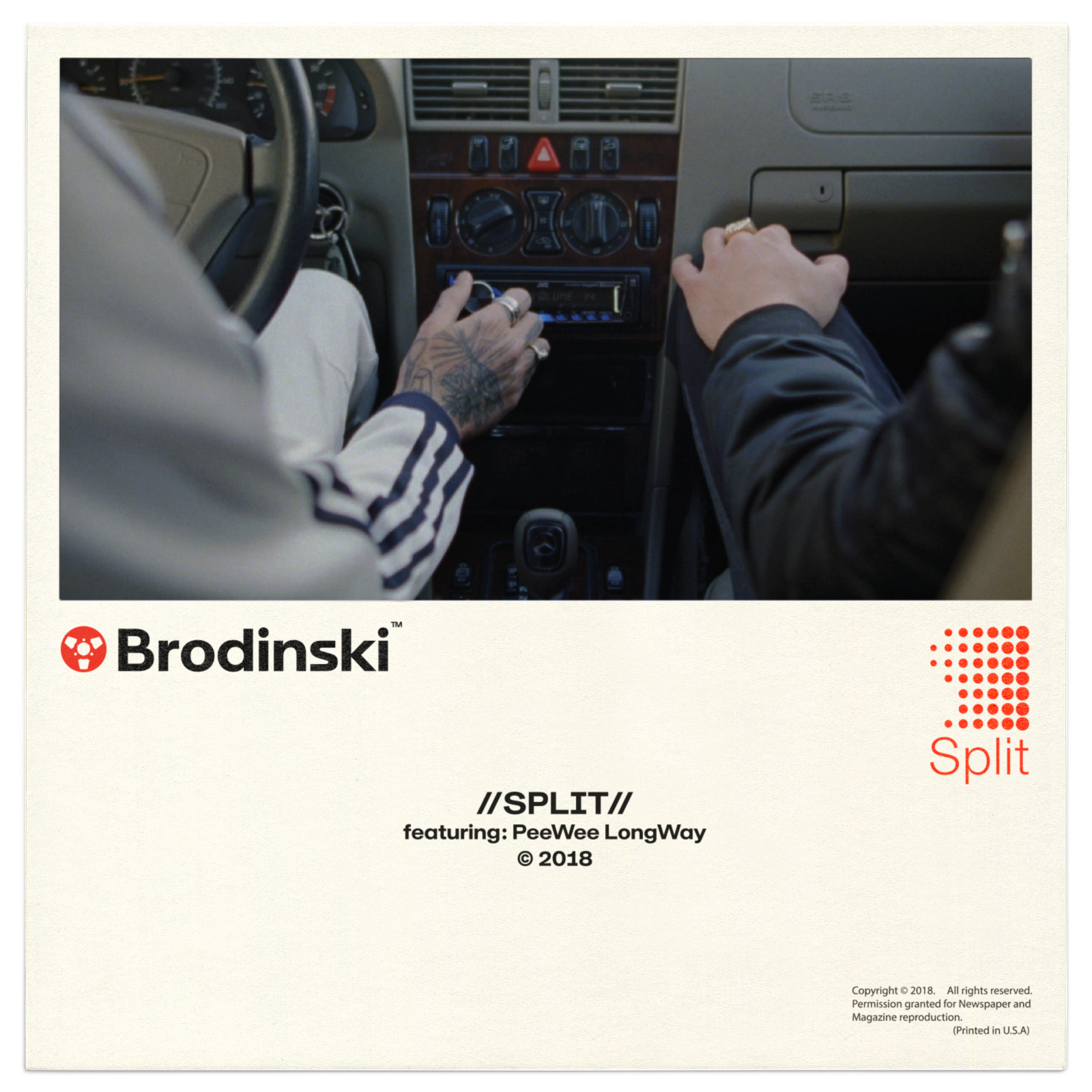 Split, the new video by French hip hop artist Brodinski | Collater.al