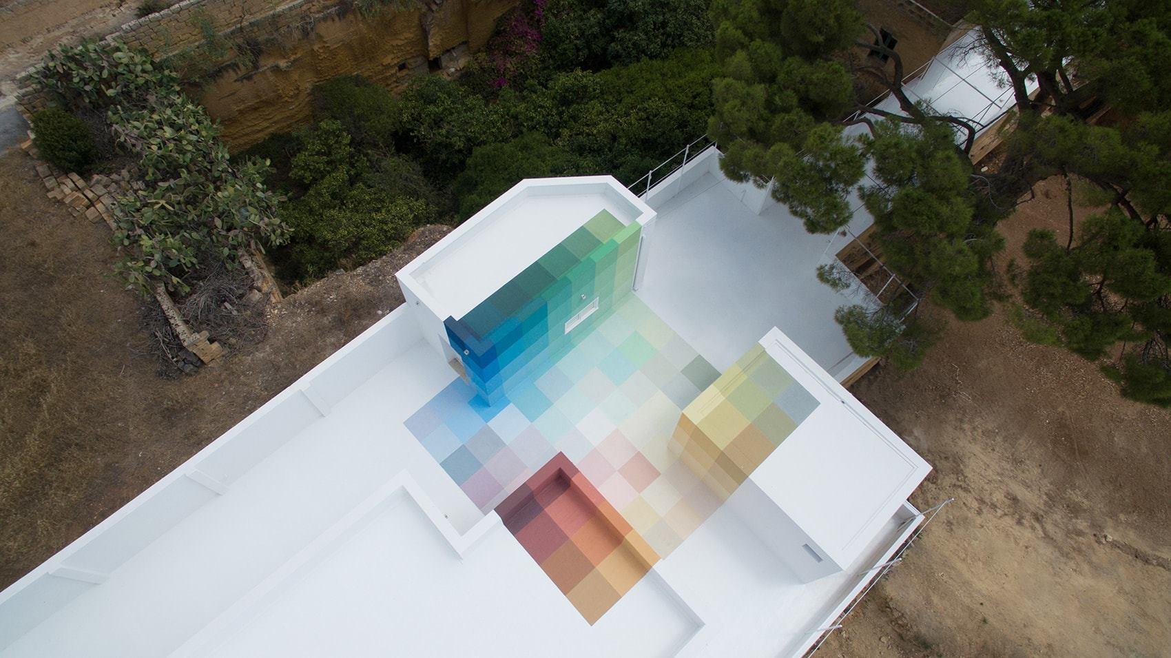 86+73, la nuova opera di Alberonero in Sicilia | Collater.al 5