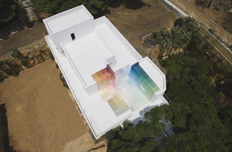 86+73, la nuova opera di Alberonero in Sicilia