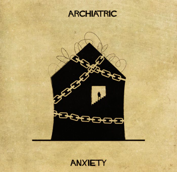 Federico Babina's Archiatric, every home has its mental disorder
