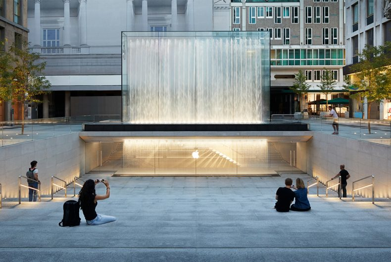 Apple Piazza Liberty opens in Milan on Thursday 26 July