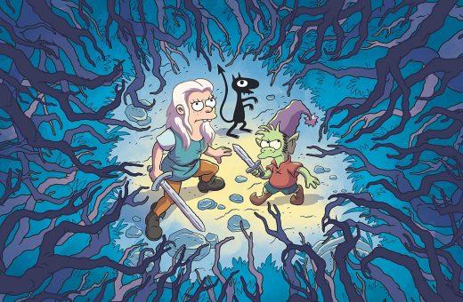 Disenchantment is the new Matt Groening's animated TV series