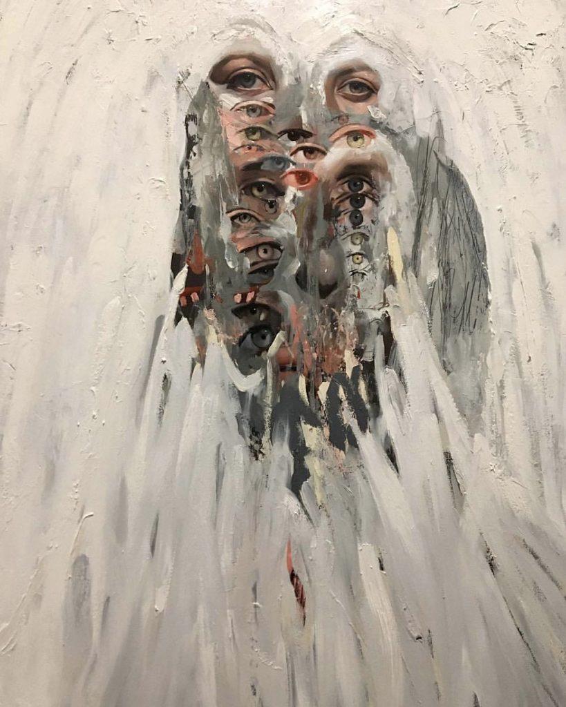Emilio Villalba cattura i sentimenti nei suoi dipinti astratti | Collater.al 6