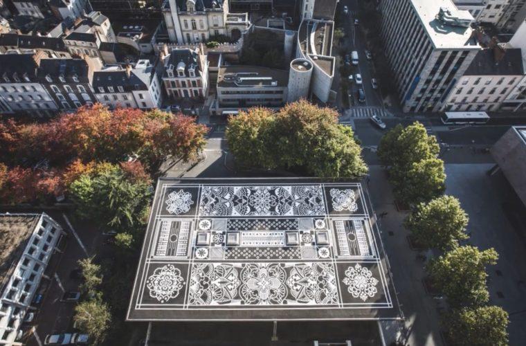 The urban carpets by Arthur-Louis Ignoré aka Ali