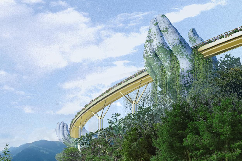 Il nuovo incredibile Golden Bridge in Vietnam | Collater.al 4