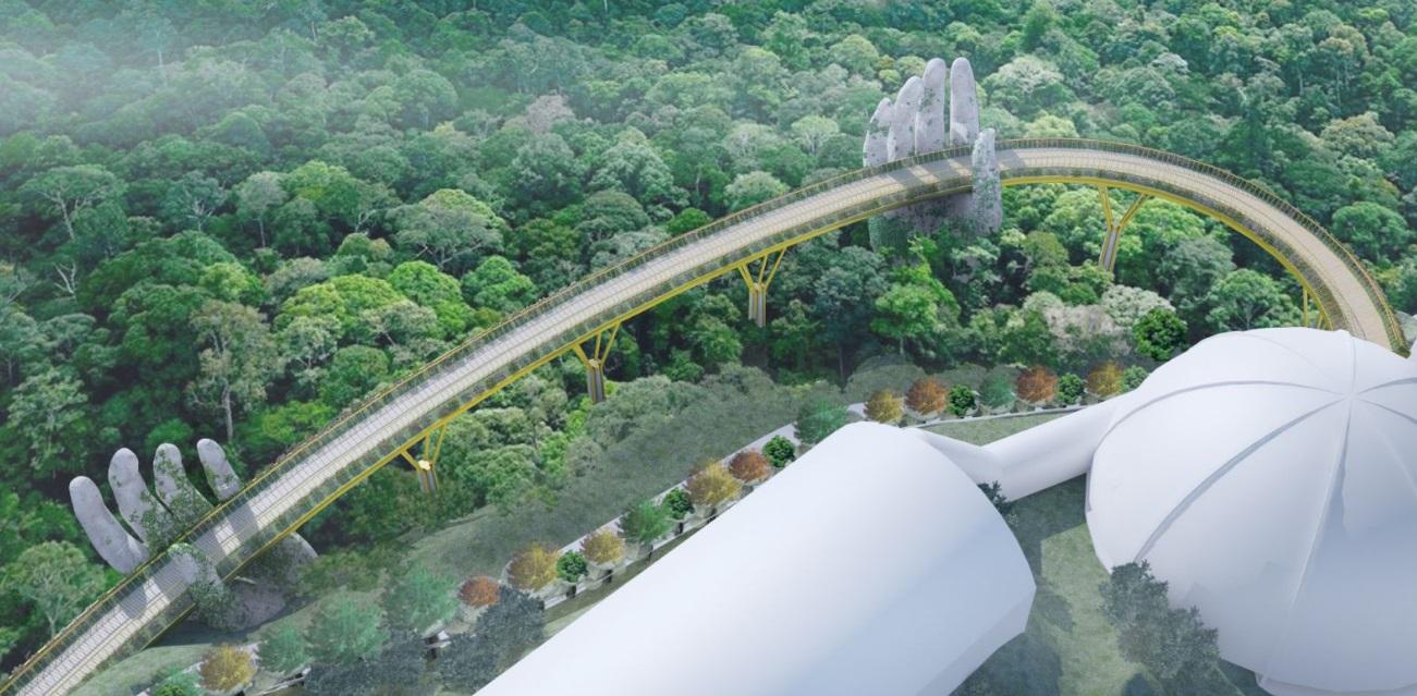 Il nuovo incredibile Golden Bridge in Vietnam | Collater.al 5