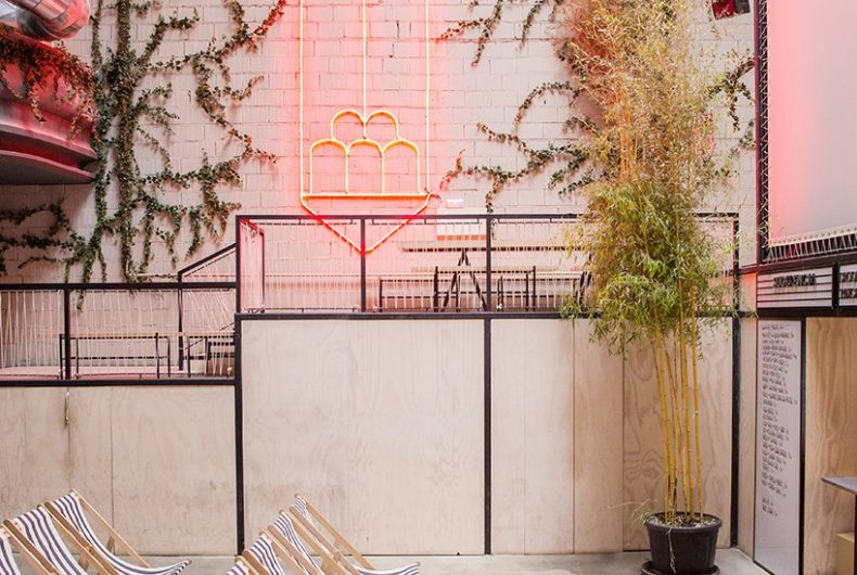 Il restyling di Plantea Studio, un cinema a luci rosse di Madrid