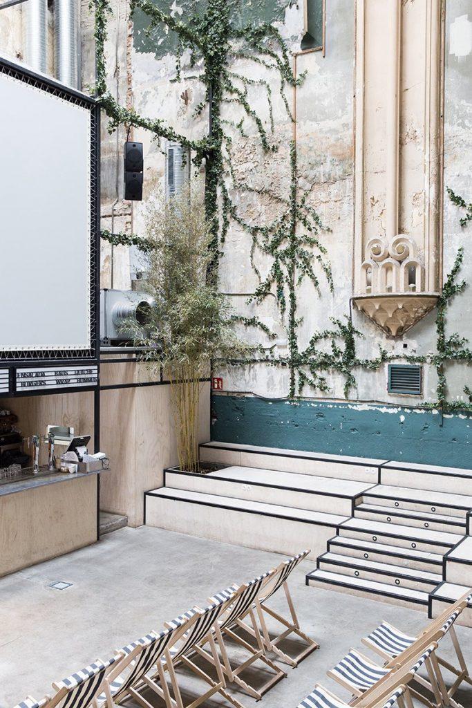 Il restyling di Plantea Studio cinema a luci rosse di Madrid | Collater.al 13
