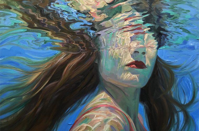 Isabel Emrich crea dei fantastici dipinti subacquei