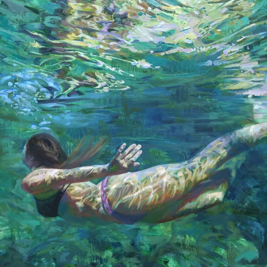 underwater paintings artwork - 990×990