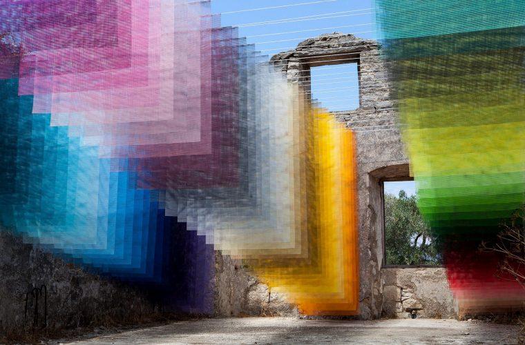 L'incredibile installazione di Quintessenzsull'isola di Paxos