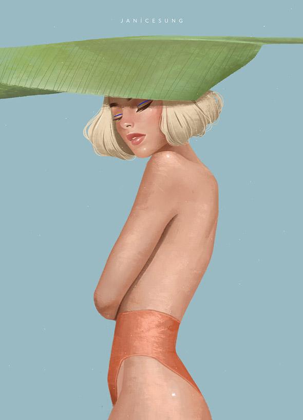 La moda secondo le illustrazioni di Janice Sung   Collater.al 10