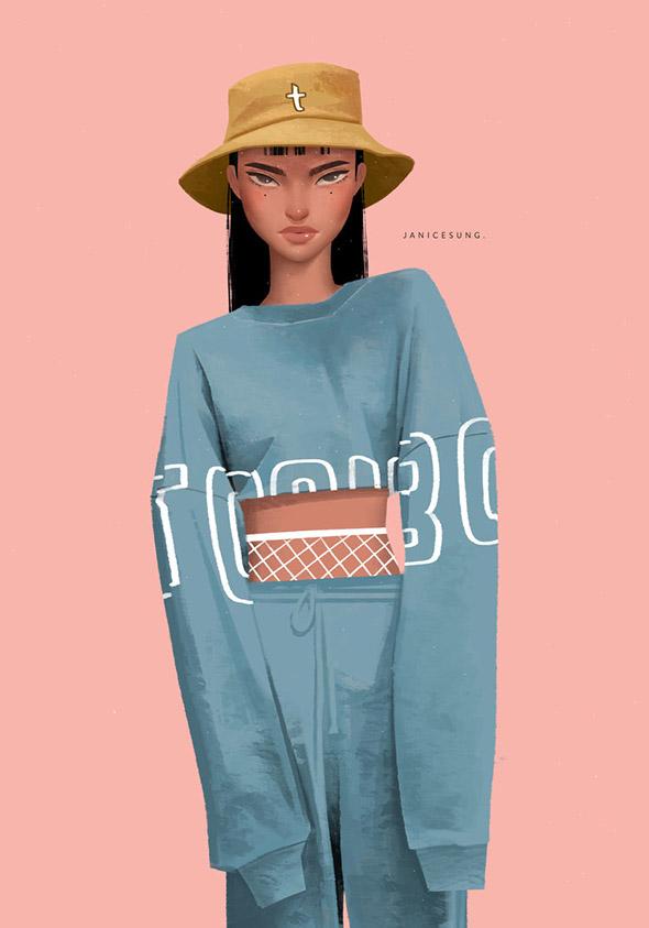 La moda secondo le illustrazioni di Janice Sung   Collater.al 11