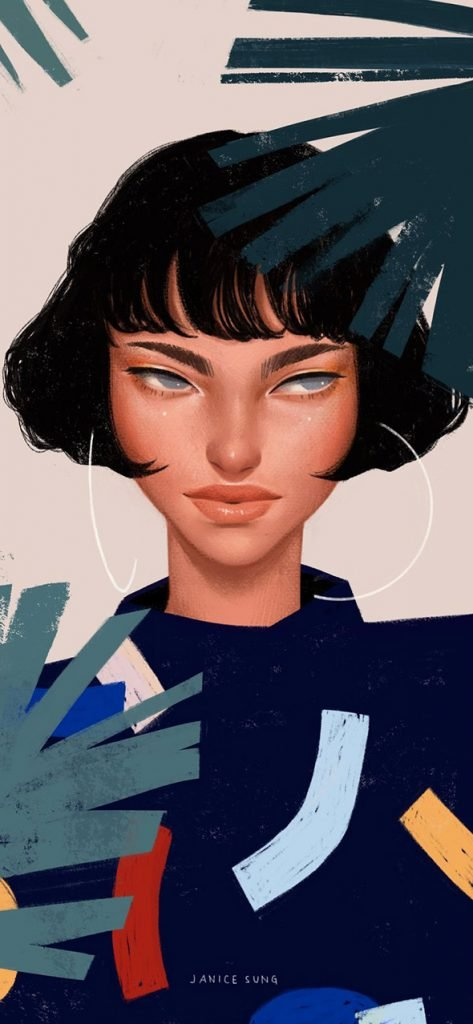 La moda secondo le illustrazioni di Janice Sung   Collater.al 13