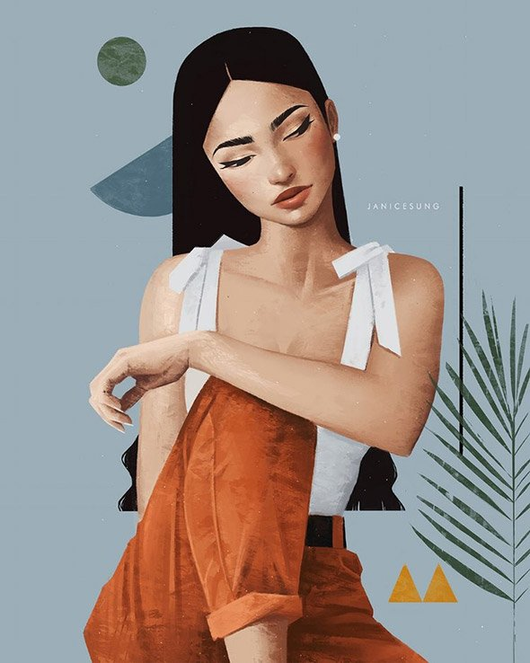La moda secondo le illustrazioni di Janice Sung   Collater.al 15