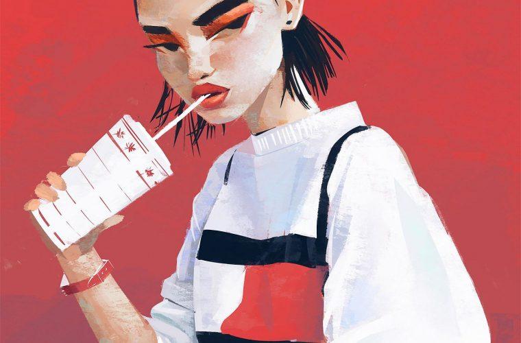 Icone femminili e moda nelle illustrazioni di Janice Sung