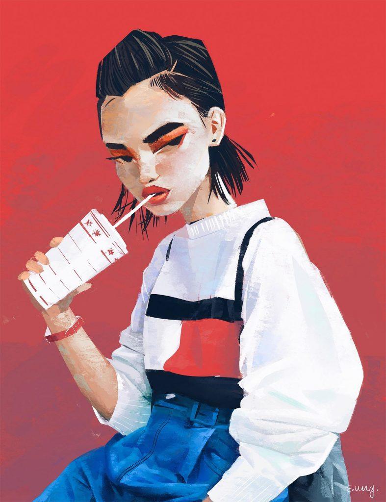 La moda secondo le illustrazioni di Janice Sung   Collater.al 19