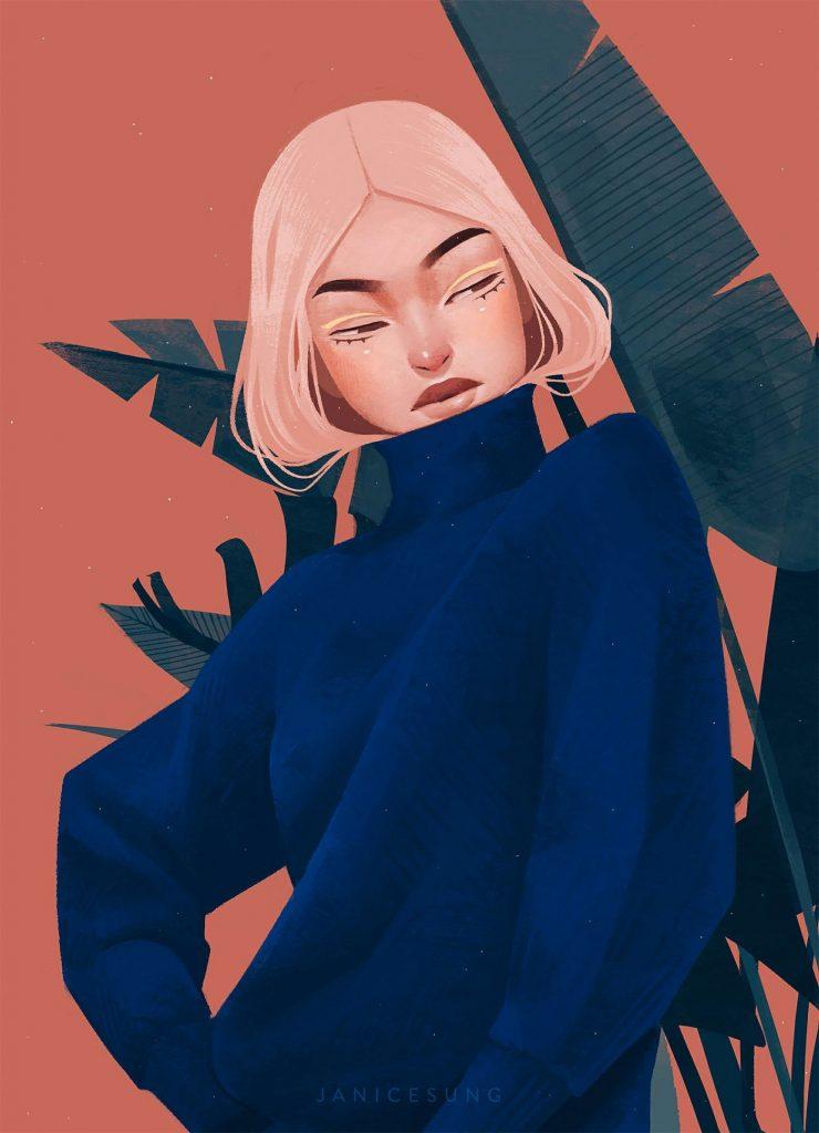 La moda secondo le illustrazioni di Janice Sung | Collater.al 20