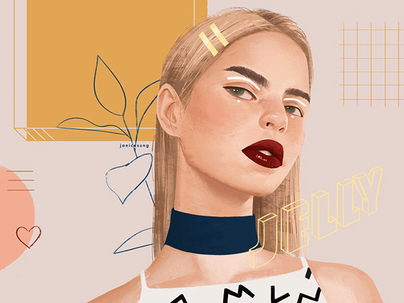 La moda secondo le illustrazioni di Janice Sung   Collater.al 4