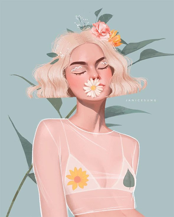 La moda secondo le illustrazioni di Janice Sung   Collater.al 6