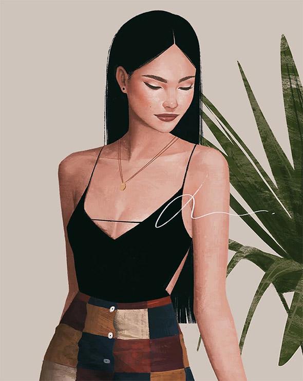 La moda secondo le illustrazioni di Janice Sung   Collater.al 7