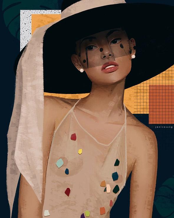 La moda secondo le illustrazioni di Janice Sung   Collater.al 9