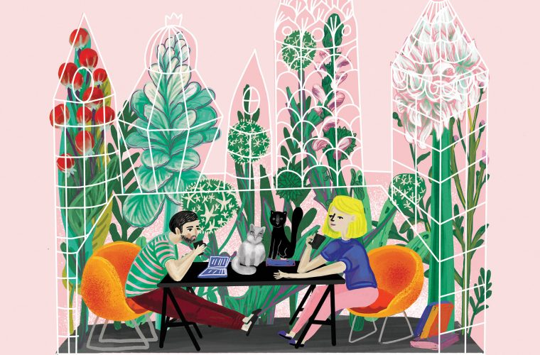 The joyful and eclectic illustrations of Loreta Isac