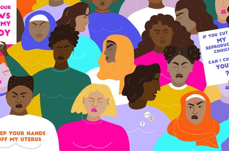 L'urlo silenzioso: le illustrazioni femministe di Erin Aniker