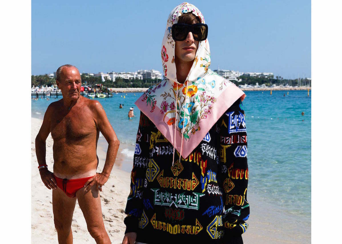 eb081f4381 Martin Parr took Gucci to Cannes for cruise collection 2019 ...