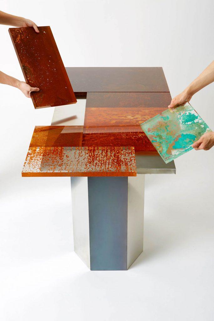 Rust Harvest è la collezione di mobili fatti di ruggine firmata Yuma Kano | Collater.al 11