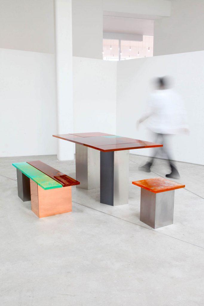 Rust Harvest è la collezione di mobili fatti di ruggine firmata Yuma Kano | Collater.al 12