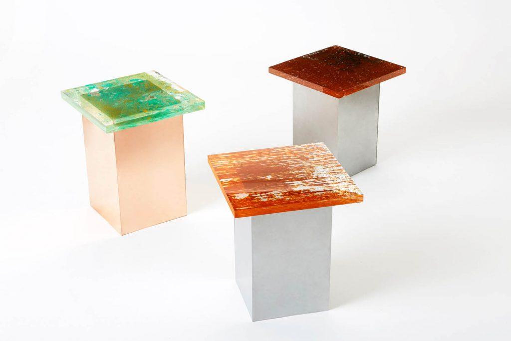 Rust Harvest è la collezione di mobili fatti di ruggine firmata Yuma Kano | Collater.al 2