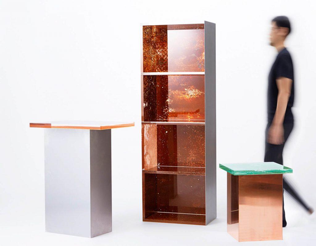 Rust Harvest è la collezione di mobili fatti di ruggine firmata Yuma Kano | Collater.al 4