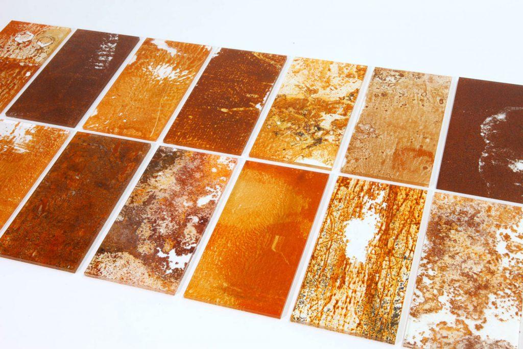 Rust Harvest è la collezione di mobili fatti di ruggine firmata Yuma Kano | Collater.al 5