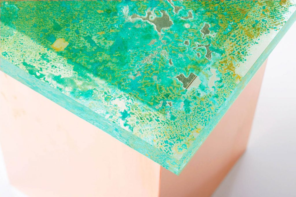Rust Harvest è la collezione di mobili fatti di ruggine firmata Yuma Kano | Collater.al