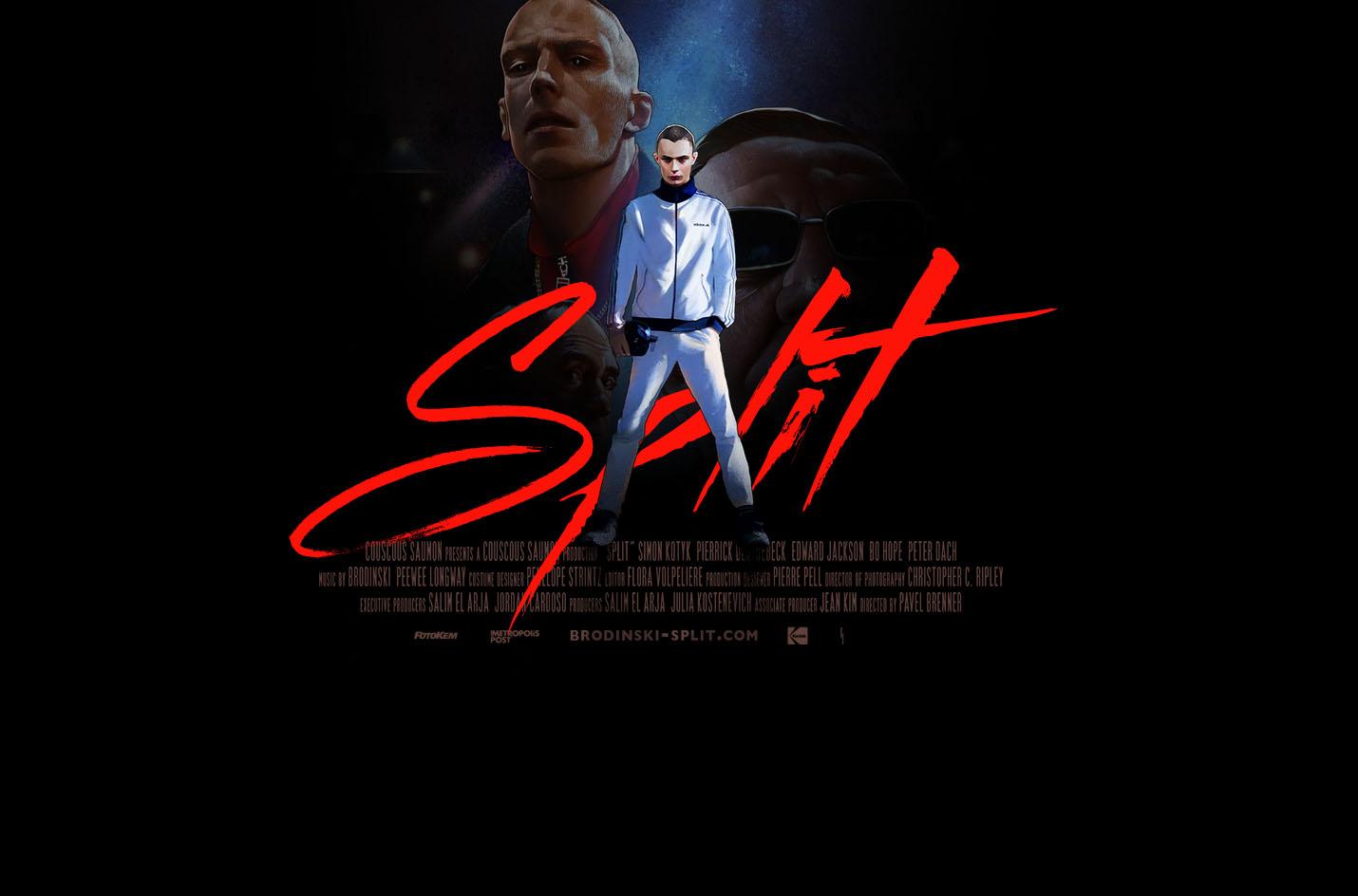 Split, the new video by French hip hop artist Brodinski   Collater.al