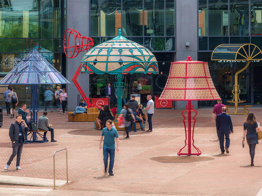 The Manchester Lamps | Collater.al