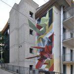 Tutti diversi, tutti uguali il muro di Lucamaleonte per Stravagante Hostel | Collater.al 10