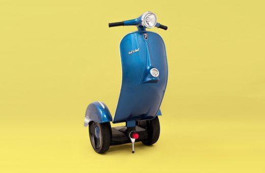 Z-Scooter, a metà tra una Vespa e un segway