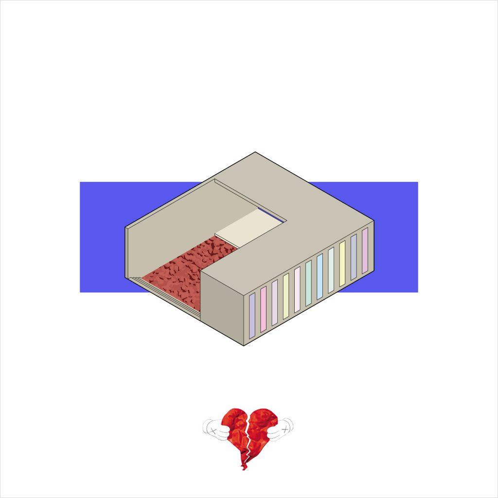 Amaory B. Portorreal, gli album di Kanye West diventano case | Collater.al