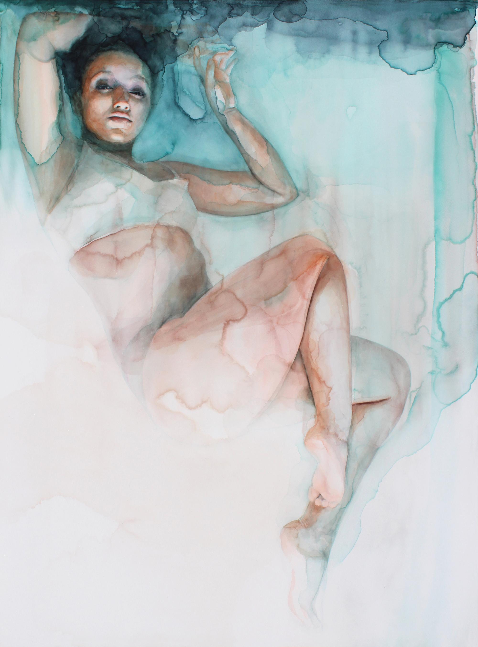 Gli acquerelli onirici di Ali Cavanaugh sono affreschi moderni | Collater.al 3