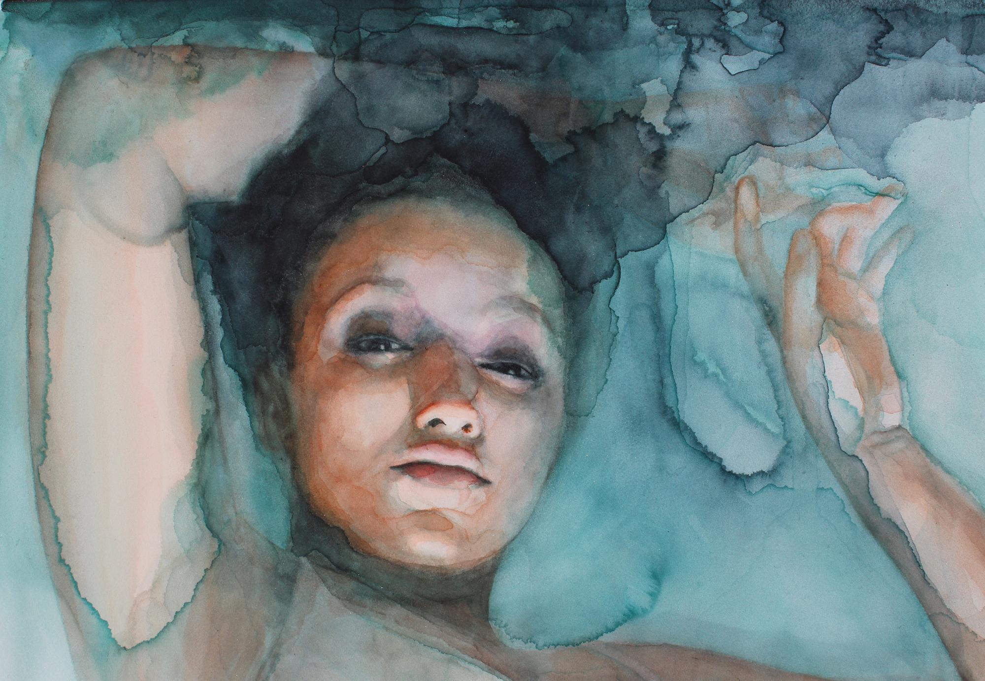 Gli acquerelli onirici di Ali Cavanaugh sono affreschi moderni | Collater.al 4