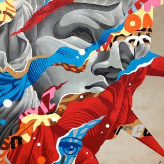 Gli enormi murales dello street artist Tristan Eaton | Collater.al 4
