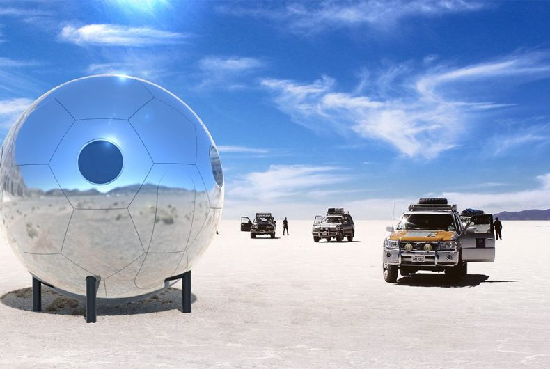 Home Pods for an alternative lifestyle out of line